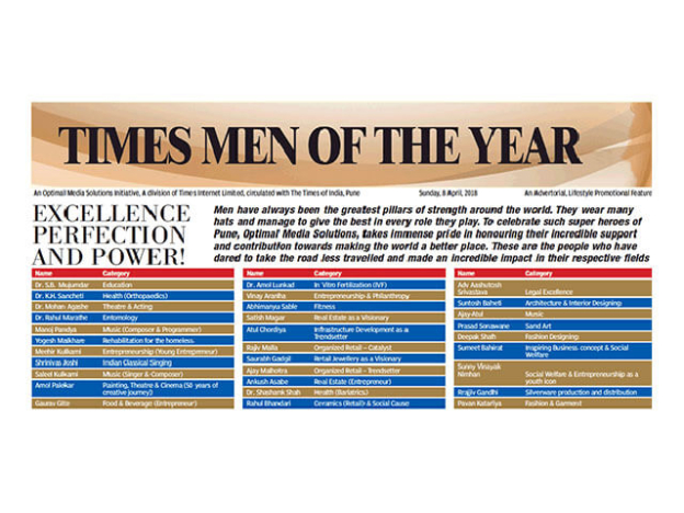 Times Men of the Year